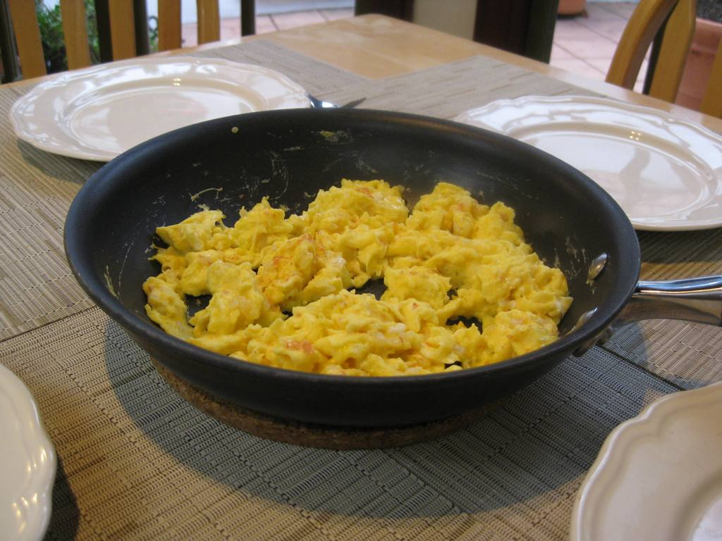 basic scrambled eggs our family likes scrambled eggs with onions the ...